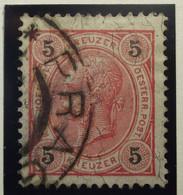 Österreich - Autriche - 1890/96  Kr & Gulden / Fils De Soie - Dent. 10.5 à 13.5 - N° 49 A -  5k - Rood - Gestempeld - Used Stamps