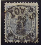 Österreich - Autriche - 1890/96  Kr & Gulden / Fils De Soie - Dent. 10.5 à 13.5 - N° 54A -  24 K  Blue/gris - Gestempeld - Used Stamps