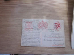Carta Postala Romania 1923 - Covers & Documents