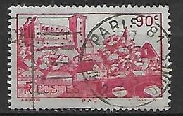 FRANCE    -    1939 .  Y&T N° 449 Oblitéré.    Château De Pau - Usati