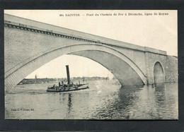 CPA - SAINTES - Pont Du Chemin De Fer à Diconche - Bateau - Saintes