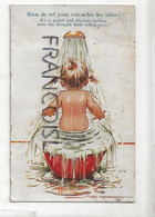 Petite Fille, Bain Et Douche. Signée Tempest. 1935 - Andere Illustrators