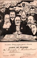 ORENS Carto-philatelique Club , Carte De Membre , 1902 , * 261 20 / RARE ++ - Orens