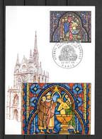 11 -1966 - 1492 - Vitrail De La Ste Chapelle - 1960-69