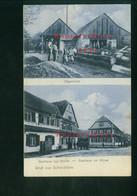 AK Scherzheim, Baden, Lichtenau, Sägemühle, Gasthaus Blume U. Krone, Ungelaufen - Other
