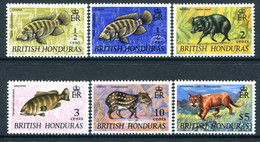 British Honduras 1969-72 Wildlife - Wmk. Sideways - Set MNH (SG 276-278) - Honduras Britannico (...-1970)