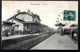 Longueville: La Gare (voyageurs, Train, Cheminots) - Sonstige Gemeinden