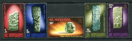British Honduras 1972 Mayan Artefacts Set MNH (SG 328-332) - Honduras Britannico (...-1970)