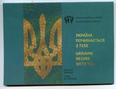 Ukraine - 5 Hryven 2016 UNC Ukraine Begins With You In Buklet Lemberg-Zp - Ucrania