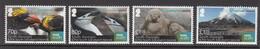 2016 South Georgia BBC Island Birds Penguins  @ FACE VALUE Complete Set Of 4   MNH - Georgia Del Sud