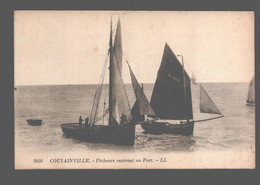 Coutainville - Pêcheurs Rentrant Au Port - Other Municipalities