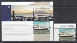 2012 Azores Acores Visit Tourism Europa CEPT  Complete Set Of 1 + Souvenir Sheet MNH @ BELOW FACE VALUE - 2012