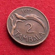 Malawi 2 Tambala 1977 KM# 8.2 *V2 Bird - Malawi