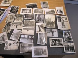 28 PHOTOS MILITAIRES - VOIR SCANS - APRES 1945 - Zonder Classificatie