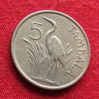 Malawi 5 Tambala 1971 KM# 9.1 *V2 Bird - Malawi