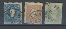 3 Werte Ø. Gut - Used Stamps