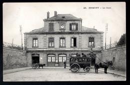 Ermont: La Gare, (attelages) - Ermont
