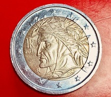 ITALIA - 2016 - Moneta - Dante Alighieri, Dipinto Da Raffaello - Euro - 2.00 - Italie