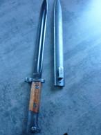 Baionnette Tchecoslovaquie  Mauser Vz 24 - Blankwaffen