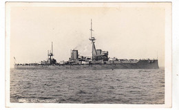 CPA NAVIRE DE GUERRE CUIRASSE ANGLAIS HMS DREADNOUGHT - Guerra
