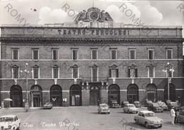 CARTOLINA  JESI,ANCONA,MARCHE,TEATRO PERGOLESI,STORIA,CULTURA,RELIGIONE,IMPERO ROMANO.ANIMATA,VIAGGIATA 1967 - Ancona