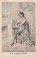 CPA Femme Lady Girl Glamour Prostituée Prostitution Mode Pantalon - Combinaison Illustrateur A. MULLER  2 Scans - Altre Illustrazioni
