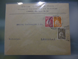 TIPO CERES - EMISSÂO LONDRES (23.8.930) - Covers & Documents