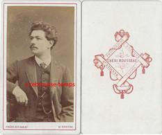 CDV Par Chéri Rousseau à Saint Etienne-beau Portrait D'homme - Anciennes (Av. 1900)