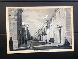 MENFI ( AGRIGENTO ) VIA DELLA VITTORIA 1941 - Agrigento