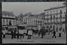 CPA Blankenberge -L'arrivée Du Tram / Légia N°208 - Blankenberge