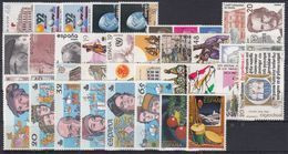 ESPAÑA 1987 Nº 2874/2926 AÑO NUEVO COMPLETO,48 SELLOS,2 HB,1 CARNET - Annate Complete