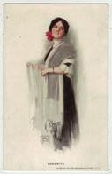 Illustrateurs  Signés  //    Femme à La Mode En Grande Robe - Altre Illustrazioni