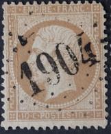21 (cote 10 €) Déf, Obl GC 1904 Juvigny-le-tertre (48 Manche ) Ind 9 ; Frappe Très Nette & TB Centrée - 1849-1876: Période Classique