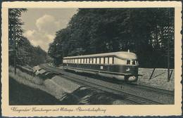 Fliegender Hamburger Mit Mitropa Bewirtschaftung, Germany / Cachet - Posted 1935 - Eisenbahnen