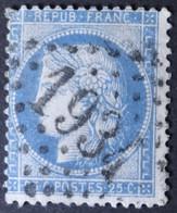 60A Planchage 129D1, Obl GC 1934 Landerneau (28 Finistère ) Ind 3 - 1849-1876: Classic Period