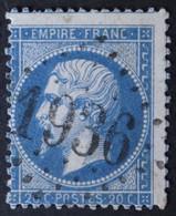 22 Piquage, Obl GC 1936 Landivisiau (28 Finistère ) Ind 4 ; Frappe Très Nette & TB Centrée - 1849-1876: Classic Period