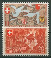 Schweiz 1941 Pro Patria 650 Jahre Eidgenossenschaft 396/97 Postfrisch - Nuevos