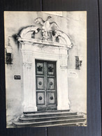 VIAGRANDE ( CATANIA ) PARTICOLARE DEL PALAZZO COMUNALE - Acireale