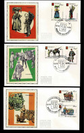 FDC Zijde : Nr 1789/94 :  Stempel: Bruxelles 1000 Brussel - 1971-80