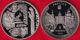 "Ukraine 5 Hryvnias 2020 ""St. Michael's Vydubychi Monastery "" UNC - Ucrania"