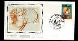FDC Zijde : Nr 2102 :  Stempel: 9209 Serskamp - 1981-90