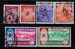 OMAN - 1966 - Muscat And Oman - USATI - Oman