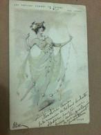 Art Nouveau, Les Petites Femmes De Revues Par Japhet, Topaze - Altre Illustrazioni