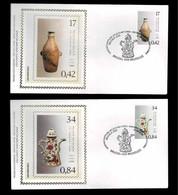 FDC Zijde : Nr 3008/09 :  Stempel: Brussel 1020 Bruxelles - 2001-10