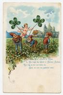 Lutins, Gnomes, Trèfles à Quatre Feuilles. Ange. Angel. Cupidon. - 1900-1949