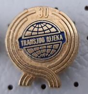 TRANSJUG Rijeka  Transportation Company, Transport, Ship Boat Croatia Ex Yugoslavia Pin - Trasporti