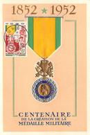 FRANCE.Carte Maximum.AM13791.23/02/1953.Cachet Togo.Centenaire De La Création De La Médaille Militaire - 1950-59
