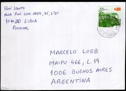 Portugal - 2009 - Carta - Enviada A Argentina - A1RR2 - Covers & Documents