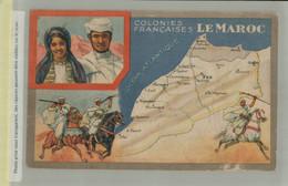COLONIES FRANCAISES - LE MAROC - PRODUIT DU LION NOIR    (JUIN 2021 301 - Géographie