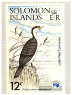 (SS 20)  Solomon Islands - AUSIPEX 884 Melbourne Stamp Show - Show's 12 Cents Bird Stamp - Uccelli
